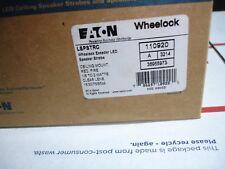 EATON / WHEELOCK - LSPSTRC LED SPK/STRB RND CEIL RED FIRE