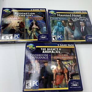 Big Fish 2 Game Pack PC DVD-Rom Mystery Adventure .. Choice