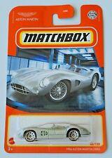 Matchbox 1956 Aston Martin DBR1 - Silver #44 44/100 2021 Basic Car