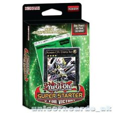 YuGiOh! Super Starter 2013: V for Victory 1st Ed Deck - Sealed Cards Only No Box