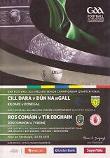 GAA 2011 Kildare v Donegal / Tyrone v Roscommon Football Championship Programme