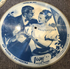 Vogue Picture Record R780 Touch me Not/Let's Get Married 78 RPM Art Kassel Disk