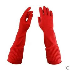 LONG LATEX /RUBBER GLOVES UNLINED