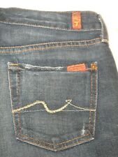 7 For all Mankind Jeans Mens Relaxed Straight Dark  30 X 28