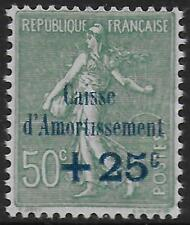 France stamps 1927 YV 247a without dot on i MLH VF