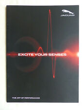 Jaguar Excite Your Senses - XE XF F-Pace - Prospekt Brochure 03.2016