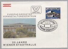 Österreich Austria 1742 First Day Cover  25 Jahre Wiener Stadthalle 1150, 1983