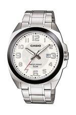 Casio Armbanduhr Collection Edelstahl Silber Analog Quarz MTP-1340D-7AVEF