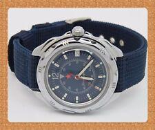 "Vostok  "" KOMANDIRSKIE"" russian military mechanical watch # 211398 new*"