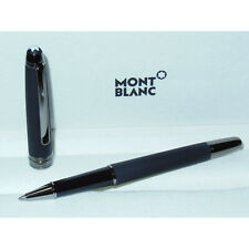 New Montblanc Meisterstuck Ultra Black Classique Rollerball Pen 114828 matte