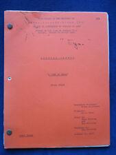 ORIGINAL MEDICAL CENTER SCRIPT A Life at Stake BRADFORD DILLMAN'S Copy wi Notes