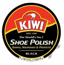Kiwi Shoe Polish Tin Boot Shiner Nourishes Protector Black Brown Neutral 50ml