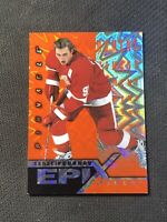 1997-98 PINNACLE EPIX SERGEI FEDOROV MOMENT ORANGE #E-5
