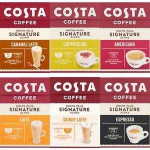 Dolce Gusto Compatibles by Costa Coffee Latte,Cappuccino,Americano,Espresso etc.