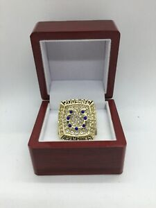 2009 Indianapolis Colts Peyton Manning Super Bowl Championship Ring with Box