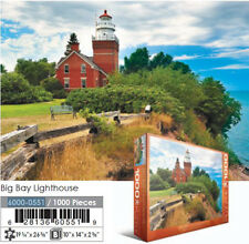 JIGSAW EG60000551 	 Eurographics Puzzle 1000 Pc - Big Bay Lighthouse, MI