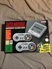 SUPER Nintendo console Classic Mini NUOVO inutilizzato