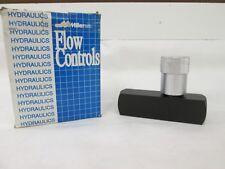 (1) Miller Fluid Power Flow Controls Model#581-Fc10S ~New Surplus~