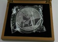 1kg Silbermedaille Gedenkmünze Panda Silver Plated Coin 2014 Box Neu