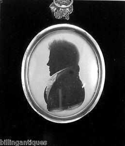 SILHOUETTE OF A GENTLEMAN WILLIAM ALPORT C 1808