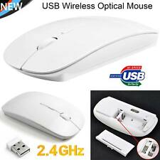 New Slim Wireless Optical Mouse Mice for Apple Mac Laptop PC Macbook