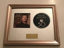 PERSONALMENTE FIRMADO / autograped Rick Astley - 50 CD presentation. RARO