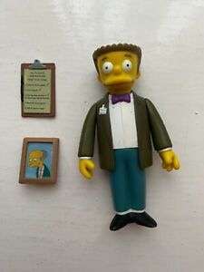 PLAYMATES INTERACTIVE THE SIMPSONS SERIES 2 WAYLON SMITHERS ACTION FIGURE WOS