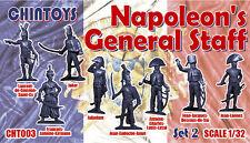 Chintoys 1/32 Napoleon's General Staff Set 2 - BAGGED, NO BOX # 003