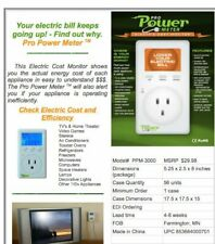 Pro Power Meter Electricity Usage Meter - Lower your Electric Bill