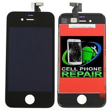 New Touch Screen Digitizer LCD Display Assembly Fits For iPhone 4 CDMA BLACK