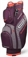 Sun Mountain Women's Starlet Cart Bag Ladies Golf 2020 Plum/Heather/Coral New