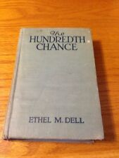 Antique Old Book The Hundredth Chance ETHEL M. DELL 1917 passion widow