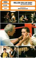 FICHE CINEMA : MILLION DOLLAR BABY - Swank,Eastwood,Freeman 2004