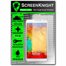ScreenKnight Samsung Galaxy Note 3 / iii FRONT SCREEN PROTECTOR invisible shield