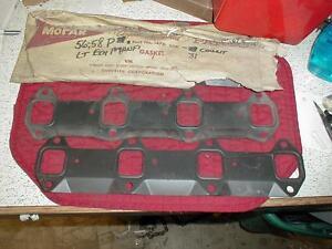 NOS MOPAR 1956-67 EXHAUST GASKETS ALL 318 WIDE BLOCK PLYMOUTH DODGE