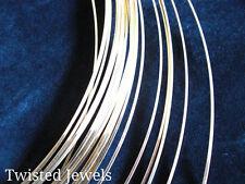 5ft 24 GA 14KY Gold-Filled HALF-ROUND Half Hard Jewelry USA Wire Design Gauge G