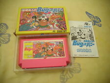 >> TAKAHASHI MEIJIN NO BUG-TTE HONEY ACTION NES FAMICOM JAPAN IMPORT CIB! <<