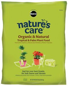 Miracle Gro/Natures Care Organic Tropical & Palm Plant Food for your best Fronds