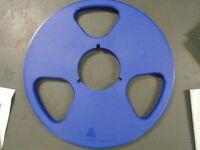 "Readbeforeyoubuy! Blue NAB Plastic Take Up Reel Reel Master 1/4"" Tape 10.5"""