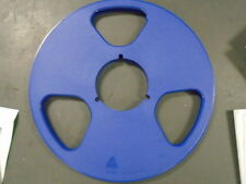 "Royal Blue NEW NAB Plastic Take Up Reel To Reel Master 1/4"" NO Tape 10.5"" Metal"