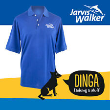 Jarvis Walker Blue Polo Fishing Shirt- X Large