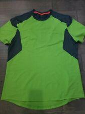 Lululemon green Short Sleeve Athletic Shirt Mens size Medium