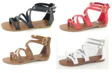 Sandali e scarpe gladiatori sintetici marca Spot On per il mare da donna