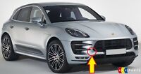 NEW GENUINE PORSCHE MACAN TURBO FRONT BUMPER TOW HOOK EYE COVER CAP PRIMED