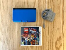 Nintendo 3DS XL Console with Genuine Mains Charger and Lego Movie Game