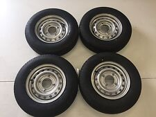 """4 X 165R13C 8 PLY 4 STUD 5.5"""" PCD TRAILER WHEELS AND TYRES/IFOR WILLIAMS"""