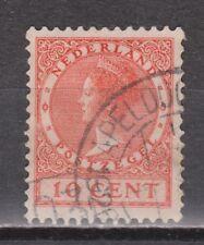 NVPH Netherlands Nederland 153 TOP CANCEL APELDOORN Wilhelmina 1924