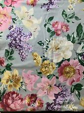 Waterford Floral Tablecloth Yardsley Spring 110x54 Rectangle 100% Cotton Sateen