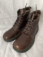 Born Chukka  Booties Womens Size 9 Leather Chunky Lace Up Boots