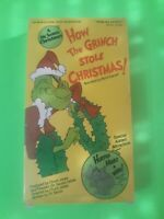 How the Grinch Stole Christmas VHS Realistic MGM Home Video